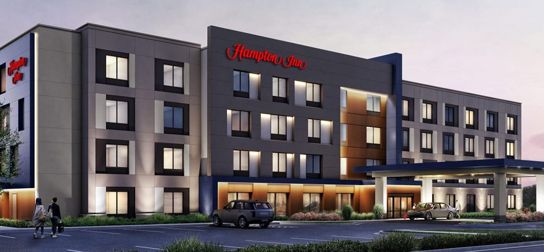 Hampton by Hilton, expected to be the first isUD Certified Hotel Nears Completion